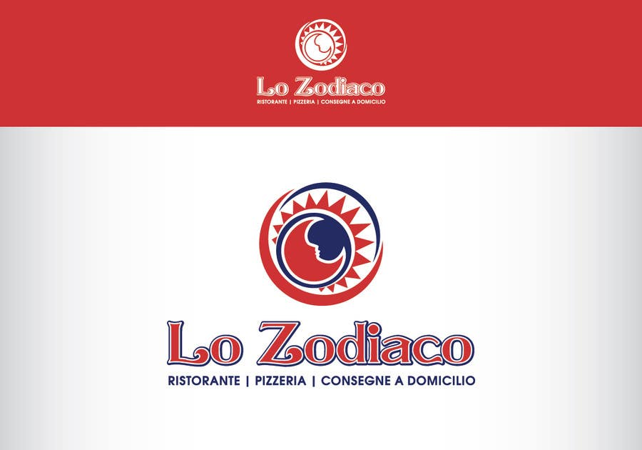 #75 for Logo re-design and street sign for an Italian restaurant and pizzeria by AnaKostovic27