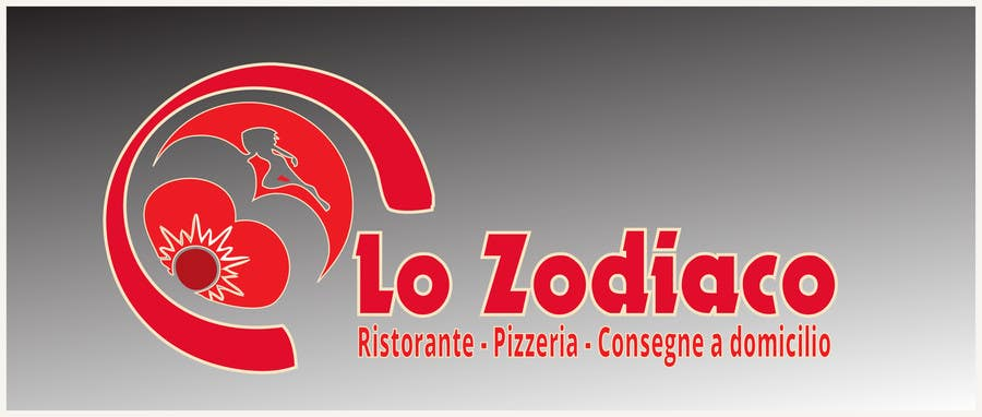 #70 for Logo re-design and street sign for an Italian restaurant and pizzeria by riyutama