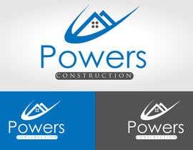 Nro 71 kilpailuun Design a Modern Logo for Powers Construction käyttäjältä mwarriors89
