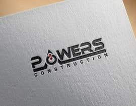 Nro 51 kilpailuun Design a Modern Logo for Powers Construction käyttäjältä MridhaRupok