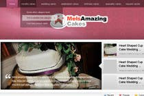 Graphic Design Contest Entry #4 for Wordpress Theme Design for Melanies Amazing Cakes
