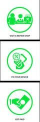 Imej kecil Penyertaan Peraduan #                                                16                                              untuk                                                 Design Graphic Icons for Website