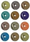 Contest Entry #19 for 5 Color variations for an existing CD cover/label