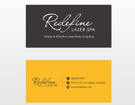 #9 untuk Design some Business Cards for a Laser Spa oleh anomalisoul