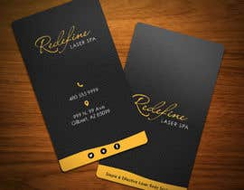nº 33 pour Design some Business Cards for a Laser Spa par MilanKalb