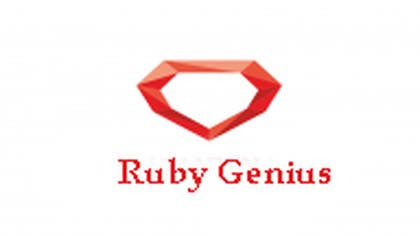 #55 for Design a logo for Ruby Genius by cristinandrei