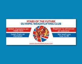 Nro 1 kilpailuun Facebook, Website banner for olympic weightlifting gym käyttäjältä worksuchit