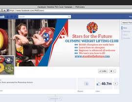Nro 32 kilpailuun Facebook, Website banner for olympic weightlifting gym käyttäjältä MooN5729