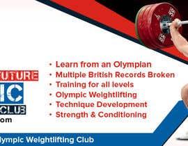 Nro 13 kilpailuun Facebook, Website banner for olympic weightlifting gym käyttäjältä rubazweb826