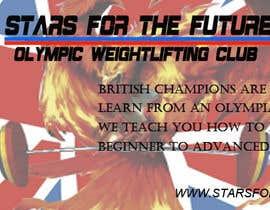 Nro 5 kilpailuun Facebook, Website banner for olympic weightlifting gym käyttäjältä ephraim23