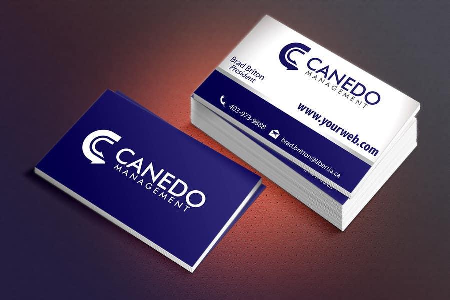 #77 for Design a Logo for Canedo Management by manuel0827