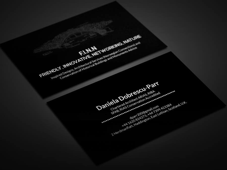 Entry #22 by smartghart for Design Business Card for an ARCHITECT ...