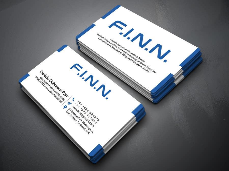 Kilpailutyö #16 kilpailussa Design Business Card for an ARCHITECT.