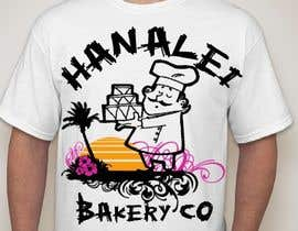 #51 for Design a T-Shirt for Bakery in Hawaii af hemalibahal