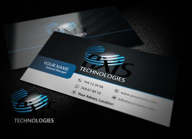 Graphic Design Contest Entry #115 for Inspiring Business Card & logo Design for Technology company