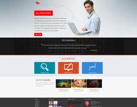 #5 for Design a clean and modern original PSD template af tania06