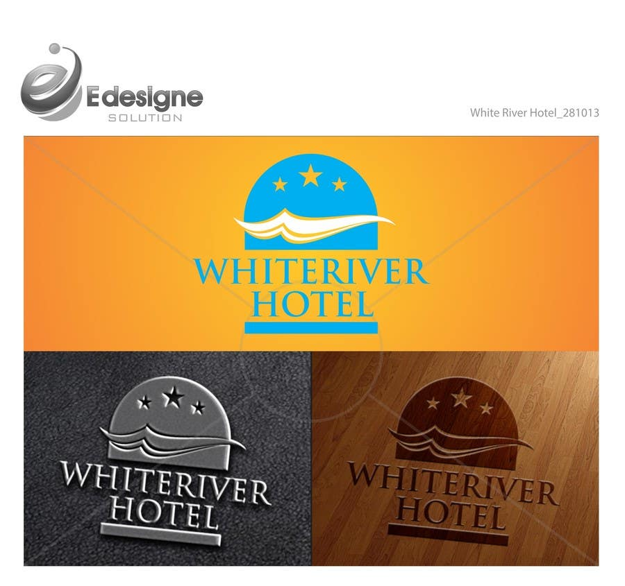 #11 for Design a Logo for White River Hotel. by edesignsolution