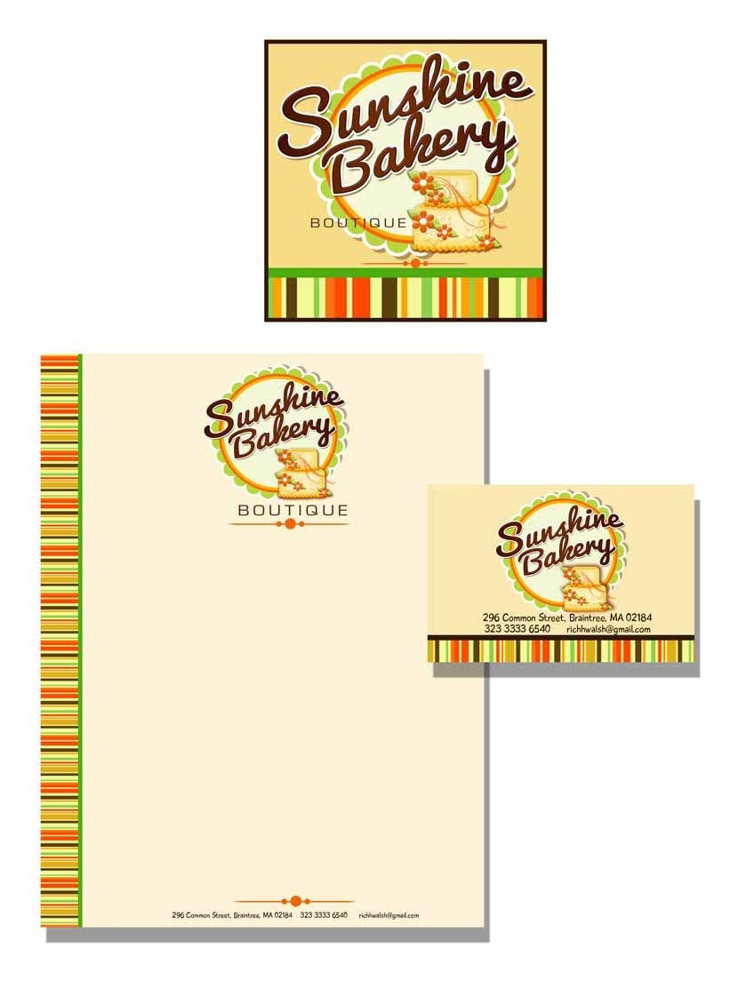 Inscrição nº 356 do Concurso para Logo Design for Sunshine Bakery Boutique a new bakery I am opening.
