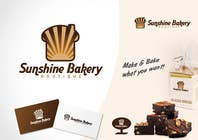 Graphic Design Inscrição do Concurso Nº301 para Logo Design for Sunshine Bakery Boutique a new bakery I am opening.