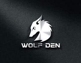 Nro 64 kilpailuun Wolf Den Logo design käyttäjältä zouhairgfx
