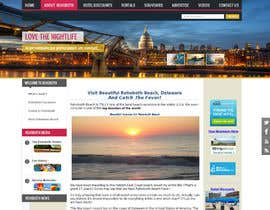 nº 2 pour Travel/Beach Website Needs A New Look par Neruna
