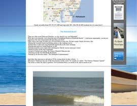 nº 3 pour Travel/Beach Website Needs A New Look par maryamjamil