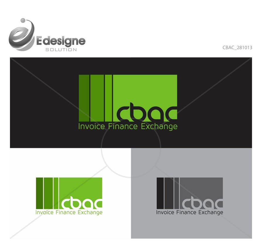 #29 for Design a Logo for CBAC Invoice Finance Exchange by edesignsolution