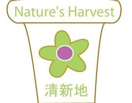 #15 para Logo Design for Nature's Harvest por jessiregalado
