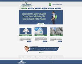 #13 for Build a Website/Splash page for No Pest Exterminators Inc. by gravitygraphics7