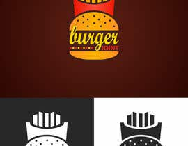 Nro 23 kilpailuun Design a simple minimalist-ish logo for a burger joint käyttäjältä FakhriDesign