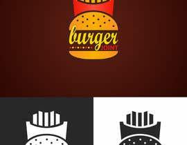 FakhriDesign tarafından Design a simple minimalist-ish logo for a burger joint için no 23