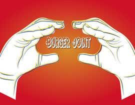 Nro 27 kilpailuun Design a simple minimalist-ish logo for a burger joint käyttäjältä pixholic