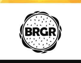 Nro 5 kilpailuun Design a simple minimalist-ish logo for a burger joint käyttäjältä ekushkaaa