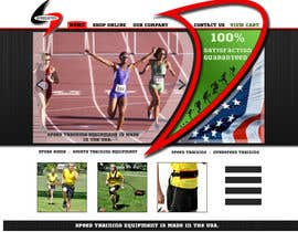 nº 6 pour Custom Sports Equipment Website Design par jaskoraul7