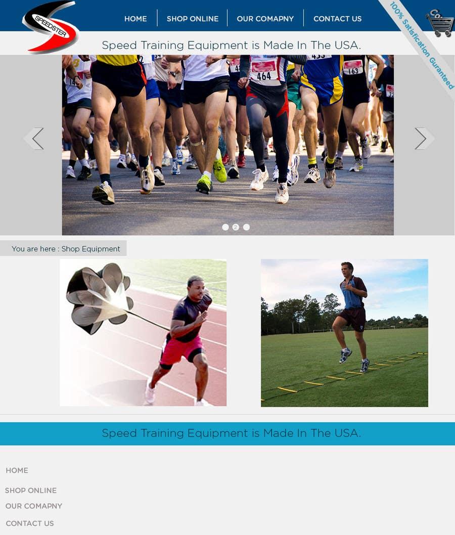 #3 for Custom Sports Equipment Website Design by muhammaduzair1