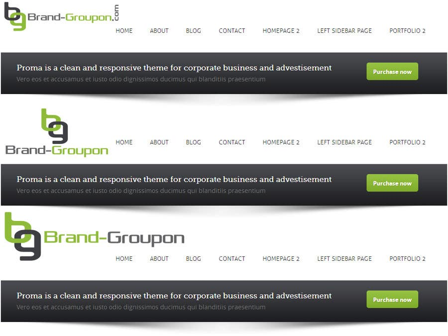 #17 for Design a Logo for Brand-Groupon.Com by PolyWorks500