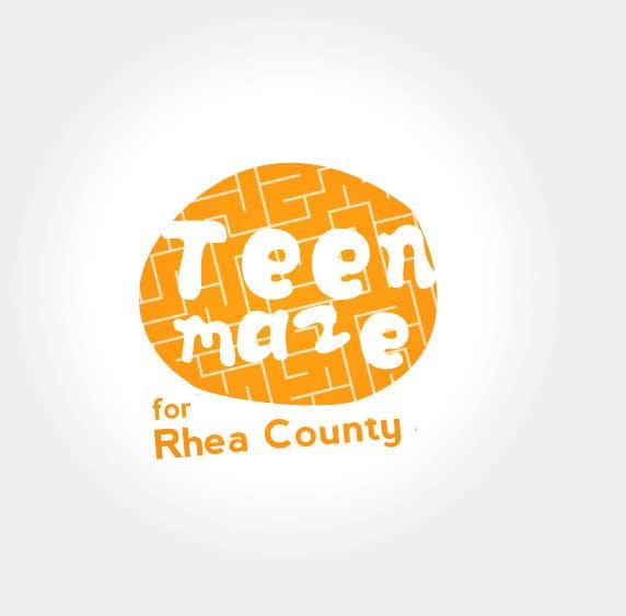 Kilpailutyö #40 kilpailussa Design a Logo for Teen Talk / Teen Maze of Rhea County