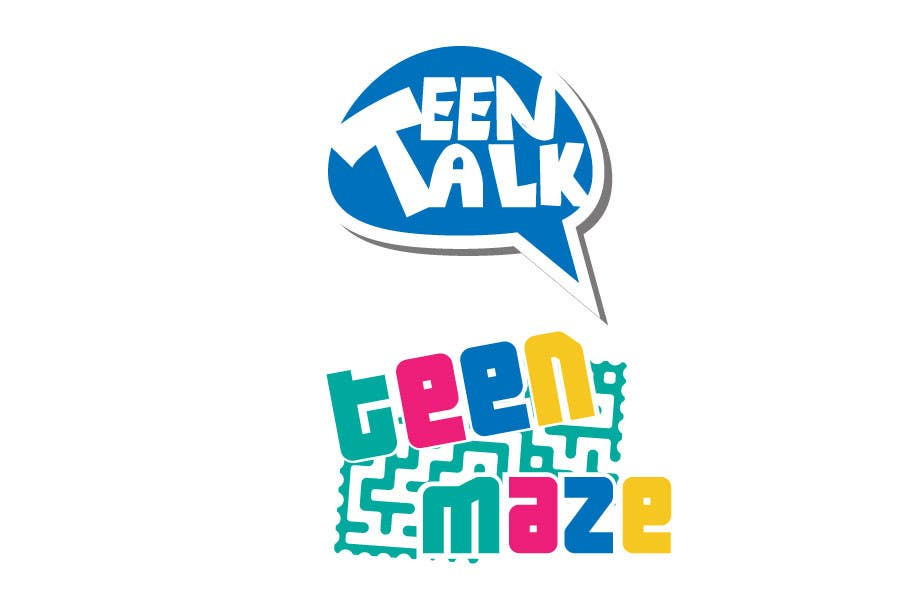Kilpailutyö #9 kilpailussa Design a Logo for Teen Talk / Teen Maze of Rhea County