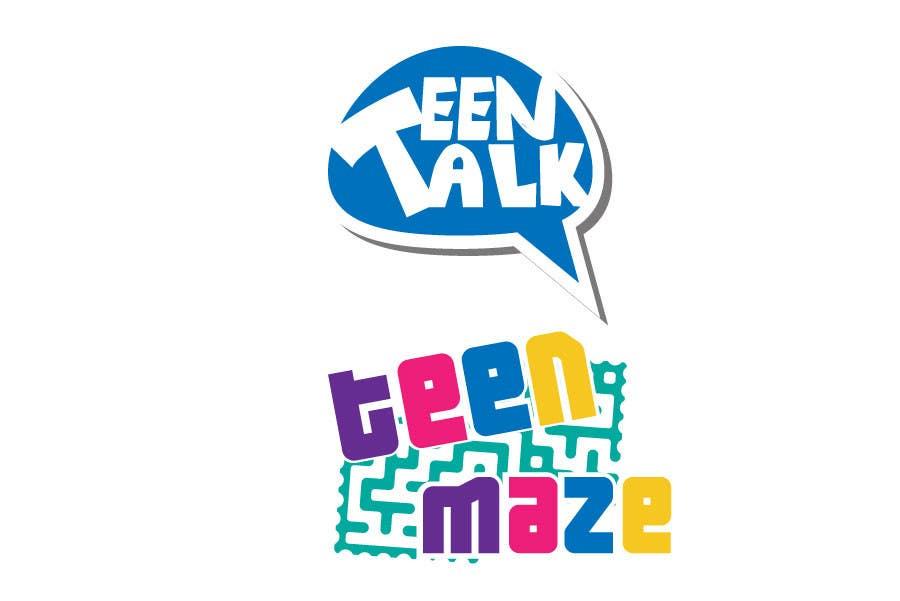 Kilpailutyö #10 kilpailussa Design a Logo for Teen Talk / Teen Maze of Rhea County