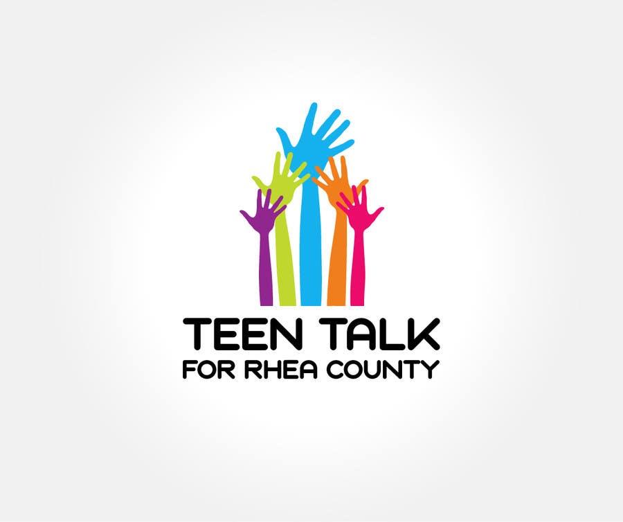 Kilpailutyö #30 kilpailussa Design a Logo for Teen Talk / Teen Maze of Rhea County