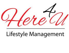 #56 para Design a Logo for 'Here 4 U - Lifestyle Management' por judithsongavker
