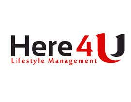 #39 para Design a Logo for 'Here 4 U - Lifestyle Management' por AymanBadaoui