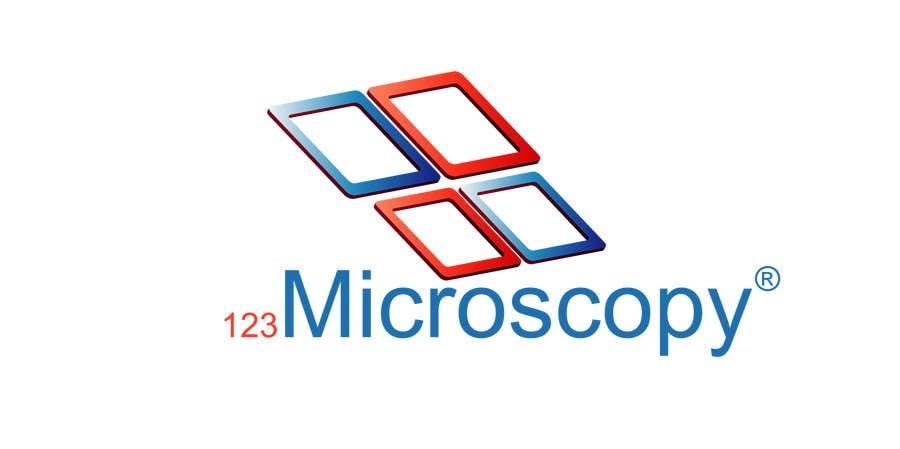 Kilpailutyö #115 kilpailussa Design a Logo for 123Microscopy