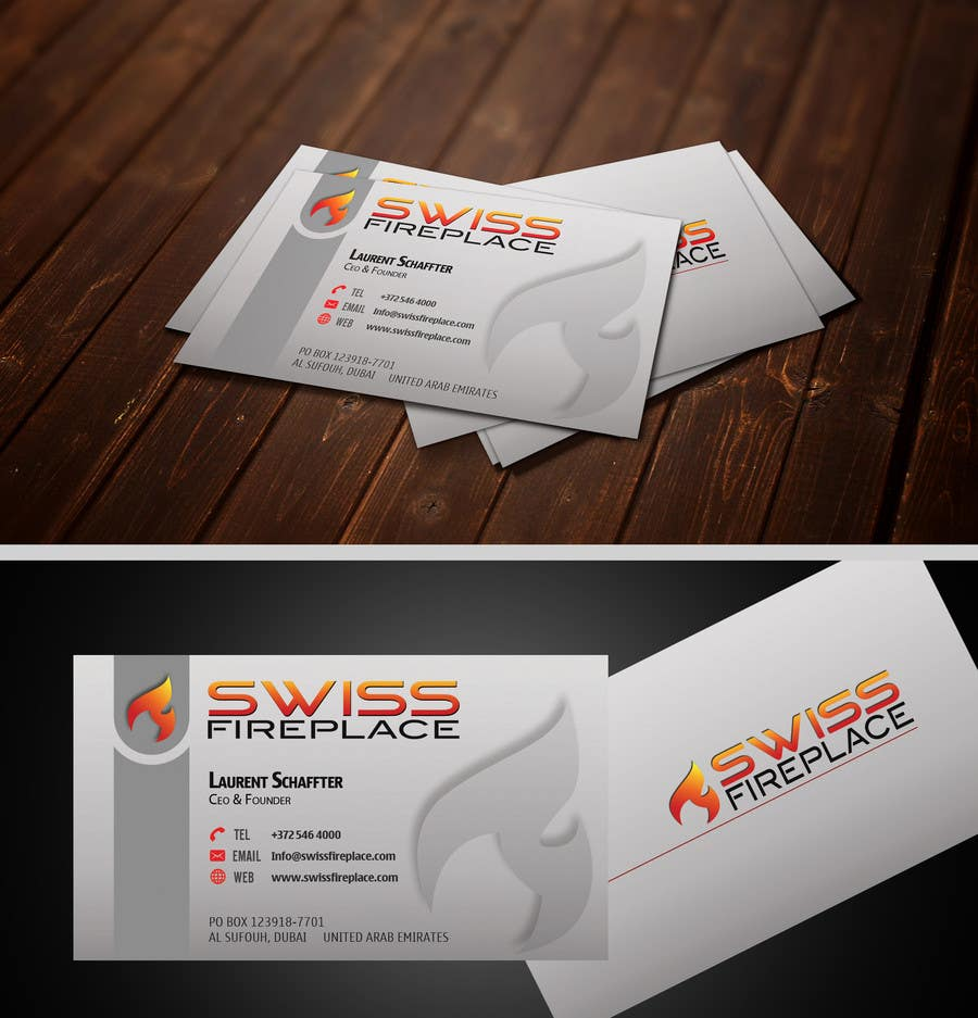 Bài tham dự cuộc thi #22 cho Design some Business Cards for our company selling Fireplaces
