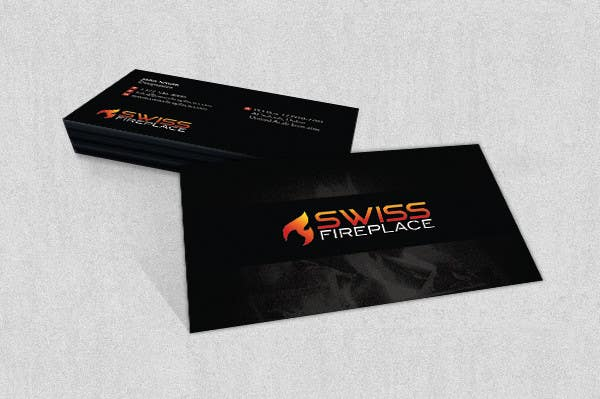Bài tham dự cuộc thi #29 cho Design some Business Cards for our company selling Fireplaces