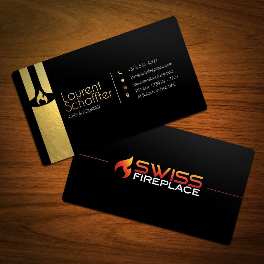 Bài tham dự cuộc thi #34 cho Design some Business Cards for our company selling Fireplaces