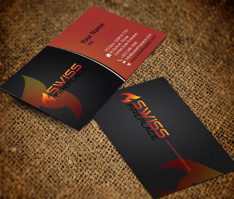 Bài tham dự cuộc thi #30 cho Design some Business Cards for our company selling Fireplaces
