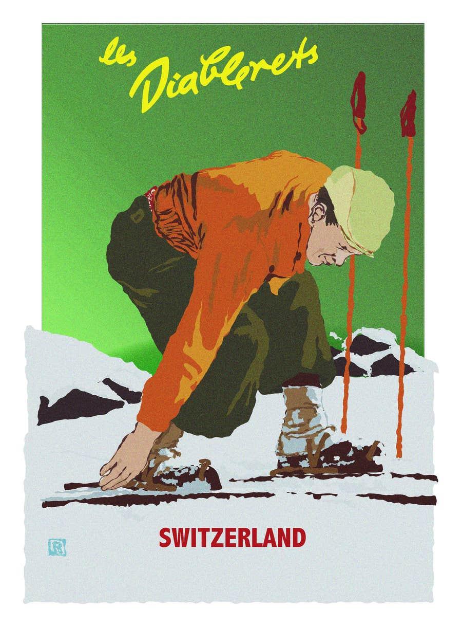 #15 for Rework on vintage poster (Vectorial) by StarDesignerNik