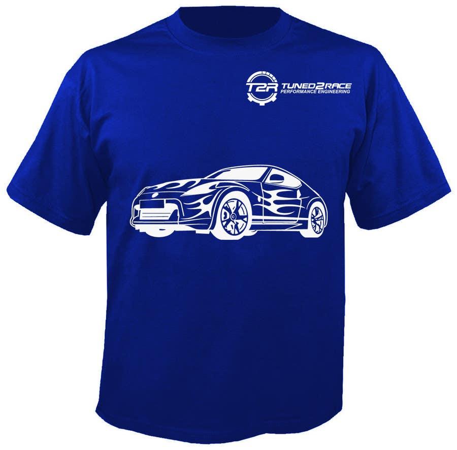 Kilpailutyö #4 kilpailussa Design a T-Shirt for Tuned2Race