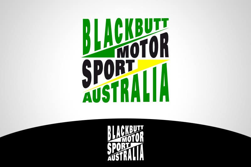 Kilpailutyö #                                        20                                      kilpailussa                                         Graphic Design for Blackbutt Motorsport Australia